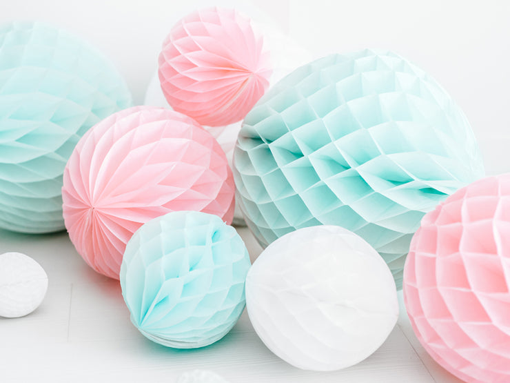 Light Pink Honeycomb Ball, Girls Party Decoration