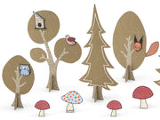 Woodland Party Decoration, Woodland creative set, Forest Party, Woodland Party,Fox Party,