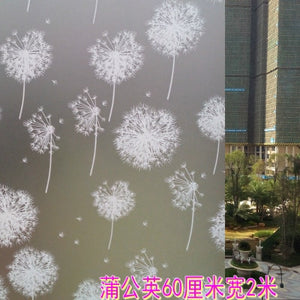 60x200cm Film On Glass Self Adhesive Window Sticker