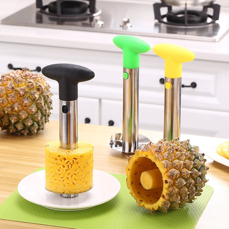 Stainless Steel Easy To Use Pineapple Peeler Pineapple Slicers Fruit Knife Cutter Corer Slicer Kitchen Tools