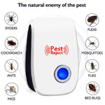Ultrasonic Pest Reject Repeller Pest Control Electronic Anti Rodent Insect Repellent Mole Mouse Cockroach Mice Mosquito Killer