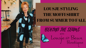 Behind The Seams: THE MOFFI SHIRT FOR SUMMER & FALL