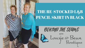 The New (& Shorter) Pencil Skirts!