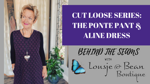 Behind The Seams: Aline Dress & Perfect Ponte