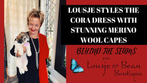 Behind The Seams: Capes 'n' Cora Dresses