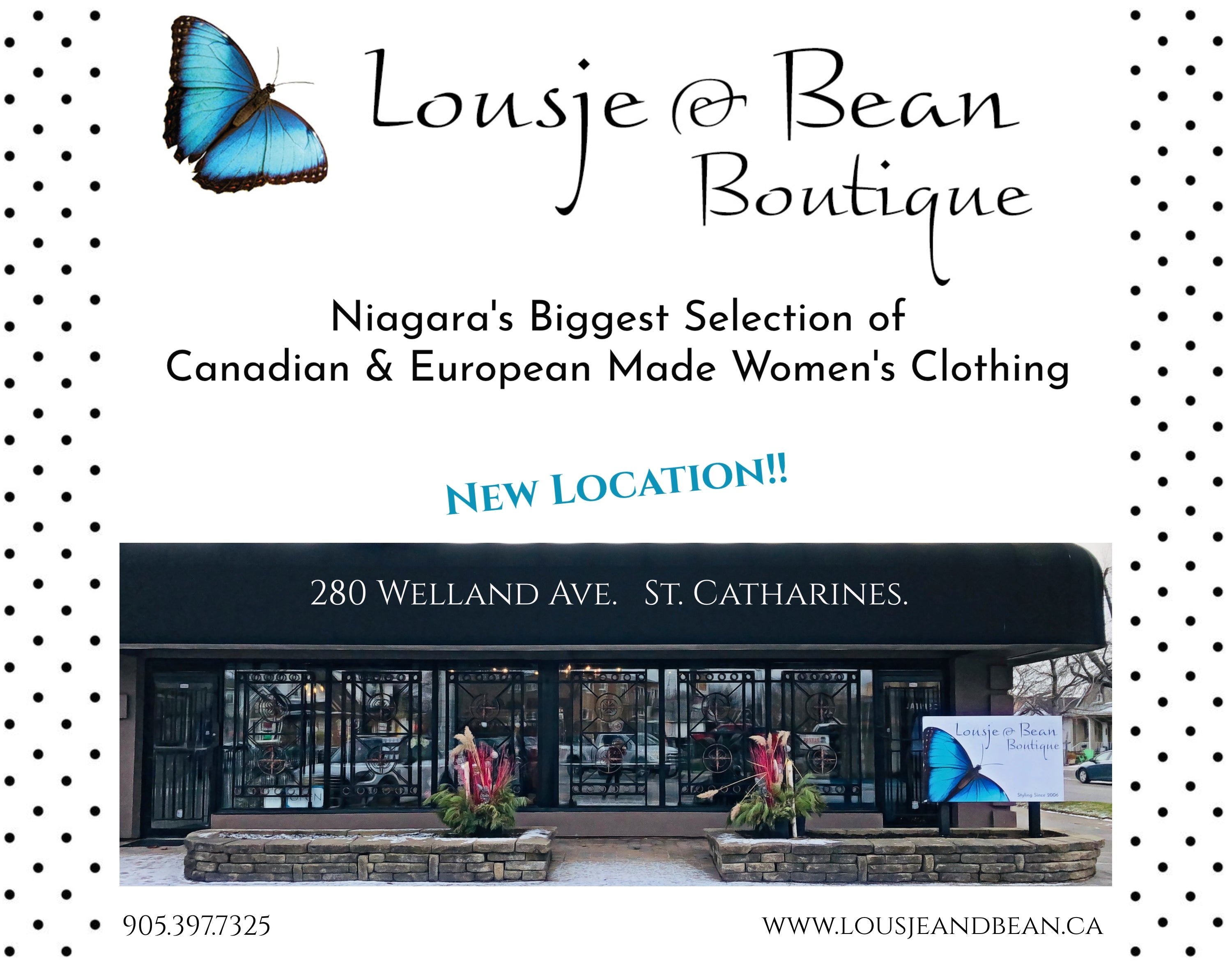 Lousje & Bean Boutique_280 Welland Ave. St. Catharines