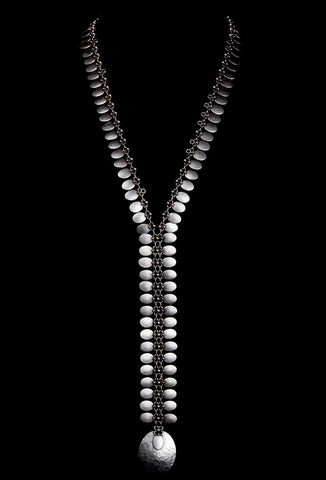 Seraglio Zipper Necklace-1515