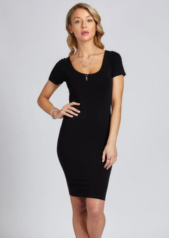 C'est Moi Bamboo Cap Sleeve Dress