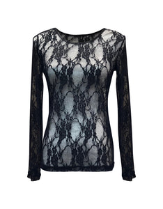 L&B Lace Scoop Top