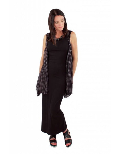 L&B Tank Dress in Blk
