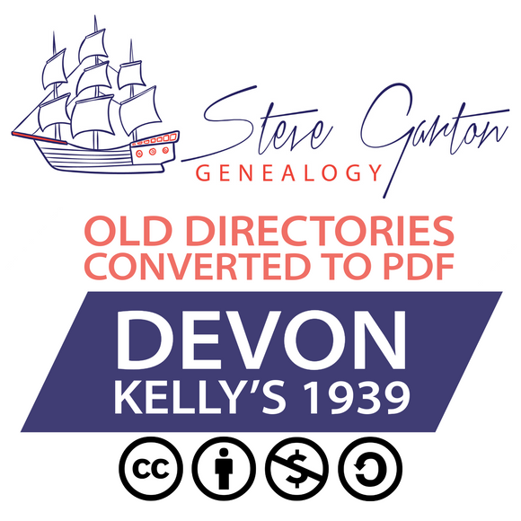 Kelly's 1939 Directory of Devon Download