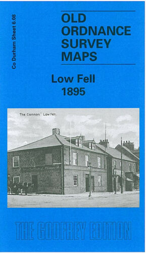 Low Fell 1895 - Durham Sheet 6.08a