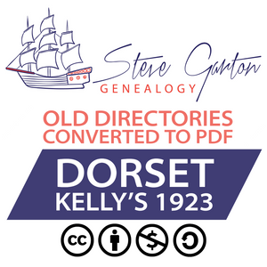 Kelly's 1923 Directory of Dorset Download