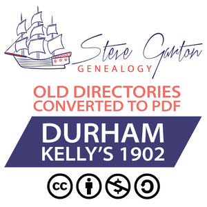 Kelly's 1902 Directory of Durham Download