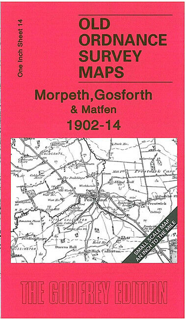 Morpeth, Gosforth & Matfen 1902-14 - England Sheet 14