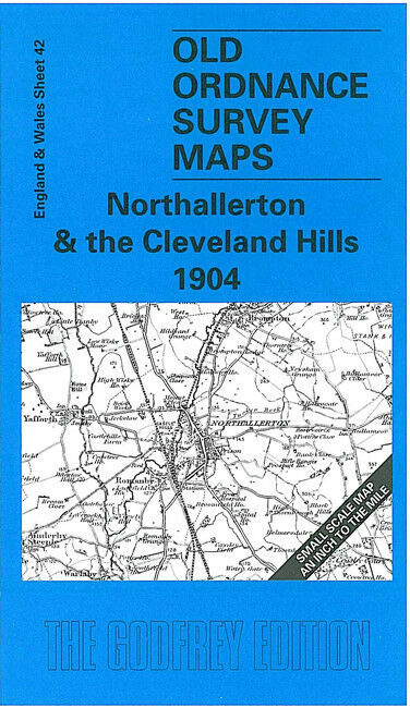 Northallerton & The Cleveland Hills 1904 - England Sheet 42