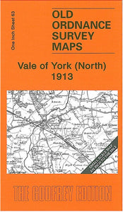 Vale of York North 1913 - England Sheet 63
