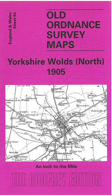 Yorkshire Wolds North 1905 - England Sheet 64