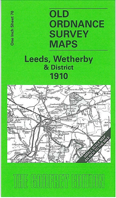 Leeds, Wetherby & District 1910 - England Sheet 70