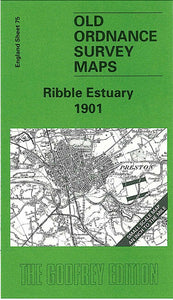 Ribble Estuary 1901 - England Sheet 75