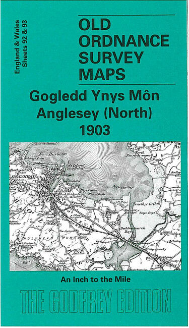 Anglesey North 1903 - Wales Sheet 92/93