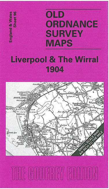 Liverpool & The Wirral 1904 - England Sheet 96