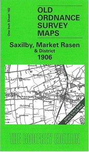 Saxilby, Market Rasen & District 1906 - England Sheet 102