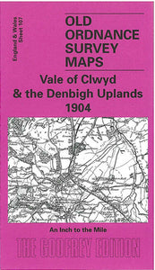 Vale of Clwyd & The Denbigh Uplands 1904 - Wales Sheet 107
