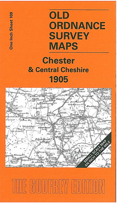 Chester & Central Cheshire 1905 - England sheet 109