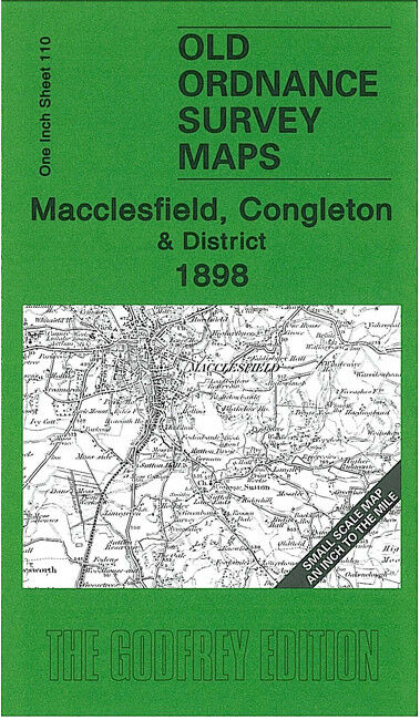 Macclesfield, Congleton & District 1898 - England Sheet 110