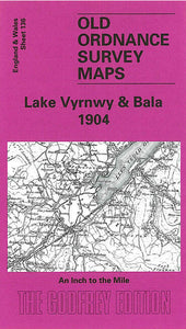 Lake Vyrnwy & Bala 1904 - Wales Sheet 136