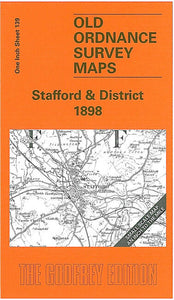 Stafford & District 1898 - England Sheet 139