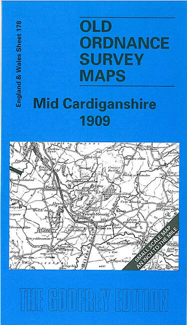 Mid Cardiganshire 1909 - Wales Sheet 178