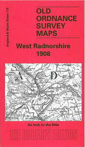 West Radnorshire 1908 - Wales Sheet 179