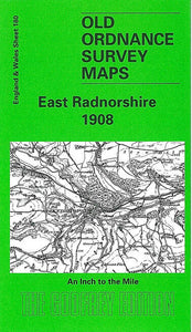 East Radnorshire 1908 - Wales Sheet 180