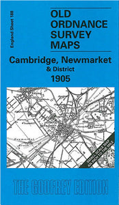 Cambridge, Newmarket & District 1905 - England Sheet 188