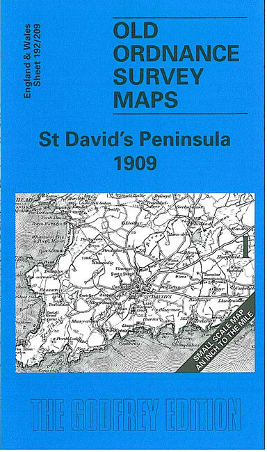 St David's Peninsula 1909 - Wales Sheet 192/209
