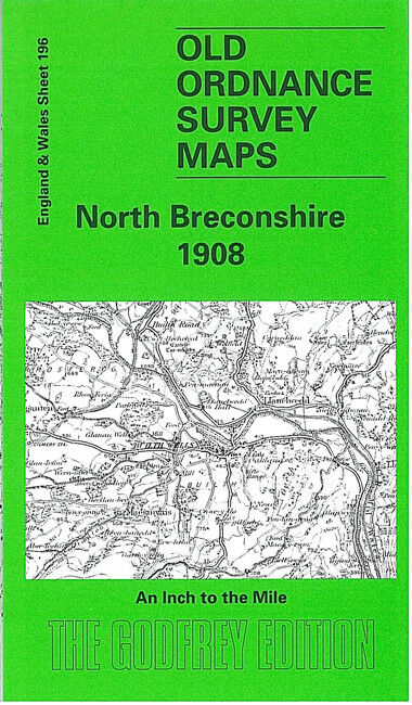 North Breconshire 1908 - Wales Sheet 196