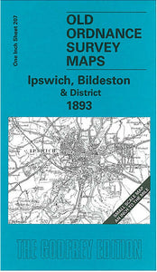 Ipswich, Bildeston & District 1893 - England Sheet 207