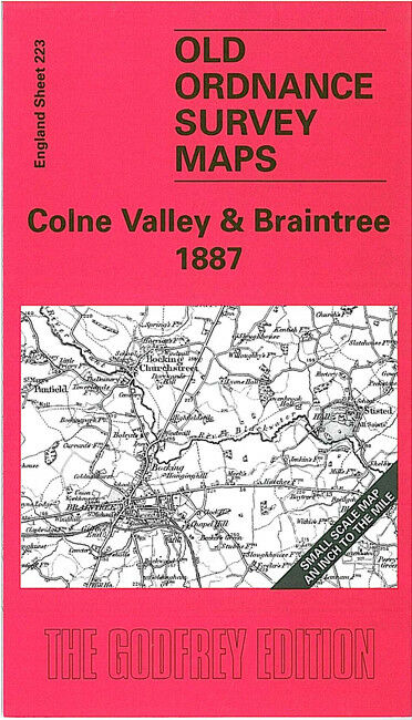 Colne Valley & Braintree 1887 - England Sheet 223
