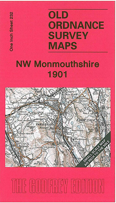 NW Monmouthshire 1901 Coloured Edition - Wales Sheet 232a