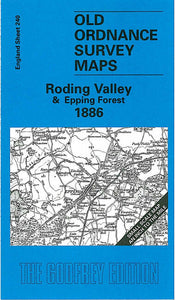 Roding Valley & Epping Forest 1886 - England Sheet 240