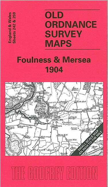 Foulness & Mersea 1904 - England Sheet 242/259
