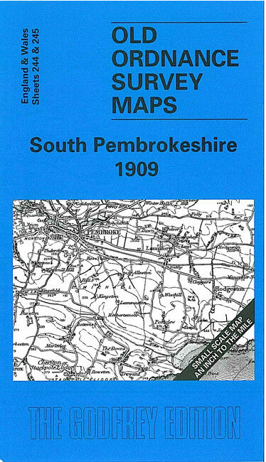South Pembrokeshire 1909 - Wales Sheet 244/245