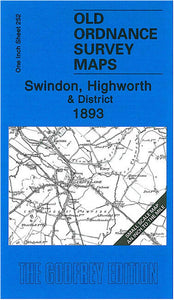 Swindon, Highworth & District 1893 - England Sheet 252