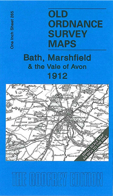 Bath, Marshfield & The Vale of Avon 1912 - England Sheet 265