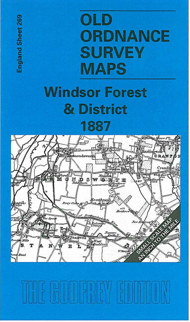 Windsor Forest & District 1888 - England Sheet 269