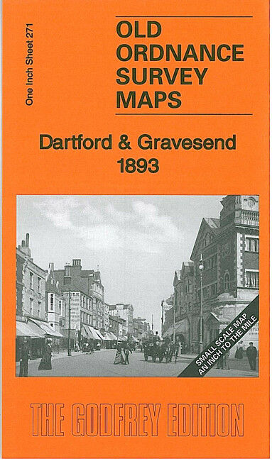 Dartford & Gravesend 1893 - England Sheet 271