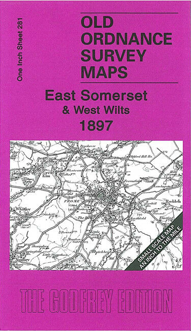 East Somerset & West Wiltshire 1897 - England Sheet 281