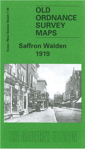 Saffron Walden 1919 - Essex Sheet 7.16